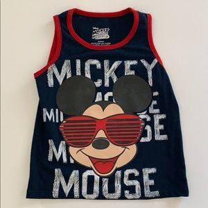 Mickey Mouse tank top 4T boy.